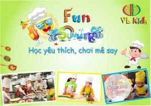 Học Nấu ăn dành cho trẻ yêu thích Nấu ăn (0946868906)