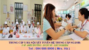 Tuyển sinh Trung cấp Y Hà Nội 0946868906