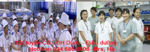 Xét tuyển Đại học Dược - Điều dưỡng chính quy năm 2016